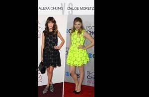 Match de look : Alexa Chung vs Chloe Moretz, la petite robe fleurie