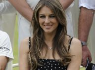 Elizabeth Hurley : Élégante supportrice de son fiancé Shane Warne