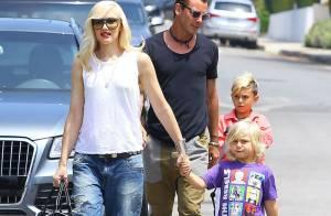 Gwen Stefani : Week-end en famille pour la radieuse maman star