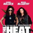 Affiche du film Les Flingueuses (The Heat) avec une Melissa McCarthy très photoshoppée