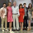 Toute l'équipe de la série Dallas à Monaco le 12 juin 2013, au Grimaldi Forum dans le cadre du 53e Festival de Télévision de Monte-Carlo.
