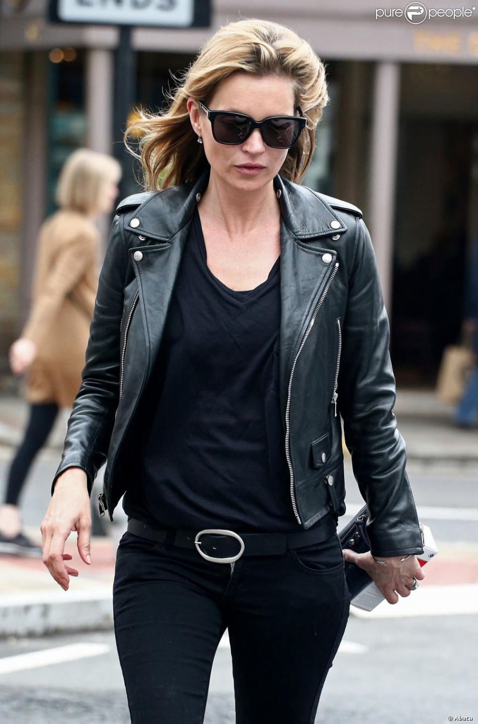 Kate Moss à Londres, le 30 mai 2013.