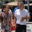 Andrea Bocelli et sa femme Veronica à Bervely Hills le 11 juin 2013