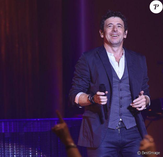 Patrick Bruel en concert au Zénith de Lille, le 6 juin 2013.
