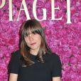 Flore Bonaventura à la soirée privée Piaget à l'Orangerie Éphémère dans le jardin des Tuileries, le 13 juin 2013
