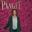 Florence Darel à la soirée privée Piaget à l'Orangerie Éphémère dans le jardin des Tuileries, le 13 juin 2013