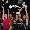 Kendra Wilkinson lors de sa soirée d'anniversaire à Miami, le 13 juin 2013. La starlette célébrait ses 28 ans.
