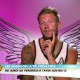 Benjamin triste dans la bande-annonce des Anges de la télé-réalité 5 sur NRJ 12 le jeudi 20 juin 2013