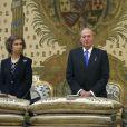 La famille royale d'Espagne rassemblée à la chapelle du palais pour un service religieux commémorant le centenaire de la naissance de Don Juan de Bourbon, comte de Barcelone, père de l'actuel roi Juan Carlos Ier d'Espagne. Outre le roi, la reine Sofia, le prince héritier Felipe, la princesse Letizia, la princesse Elena, ou encore les princesses Pilar et Margarita, la princesse Cristina y assistait. Sa première apparition depuis octobre 2011 et l'éclatement du scandale Noos dans lequel son mari Iñaki Urdangarin a été mis en examen.