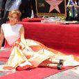Jennifer Lopez reçoit son étoile à Hollywood, le 20 juin 2013.