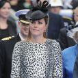 Kate Middleton, enceinte et stylée à Southampton, le 13 juin 2013.