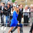 La princesse Beatrice d'York lors du mariage de Lady Melissa Percy, fille du duc de Northumberland, et de Thomas van Straubenzee à Alnwick en Angleterre le 22 juin 2013