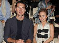 Fashion Week : Hayden Panettiere et son fiancé, charmant duo pour Giorgio Armani