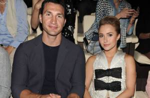 Fashion Week : Hayden Panettiere et son fiancé, charmant duo pour Giorgio Armani
