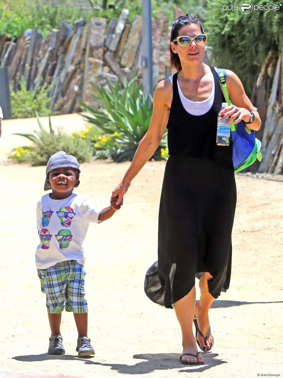 Sandra Bullock Son 2014 - #traffic-club