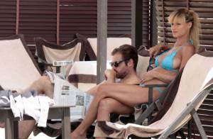 Michelle Hunziker, enceinte : La belle en bikini dévoile ses superbes rondeurs