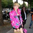 La styliste Catherine Baba lors du défilé Atelier Versace à Paris, le 30 Juin 2013.