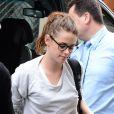 Kristin Stewart a débarqué à son hôtel parisien, le lundi 1 juillet 2013.