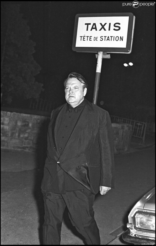 Orson Welles à Paris.