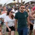 Robert Pattinson et Kristen Stewart lors du festival de Coachella le 13 avril 2013