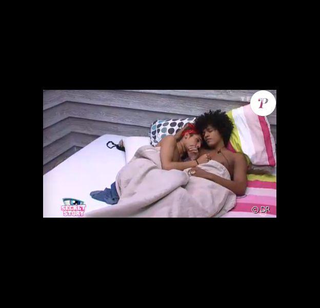 Eddy et Jamel dans Secret Story 7, quotidienne du jeudi 4 juillet 2013 sur TF1.