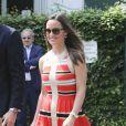Pippa Middleton et son compagnon Nico Jackson au All England Lawn Tennis and Croquet Club de Wimbledon le 5 juillet 2013 à Londres