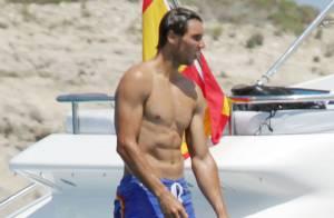 Rafael Nadal : Vacances sous le soleil et entre amis loin de sa belle Xisca