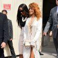 Rihanna lors du défilé Chanel haute couture au Grand Palais. Paris, le 2 juillet 2013.