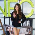 La chanteuse et actrice Selena Gomez a dévoilé sa première collection de prêt-à-porter automne/hiver 2013 pour le label NEO d'Adidas, à Berlin, le 9 juillet 2013.