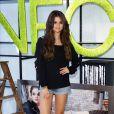 Selena Gomez a dévoilé sa première collection de prêt-à-porter automne/hiver 2013 pour le label NEO d'Adidas, à Berlin, le 9 juillet 2013.
