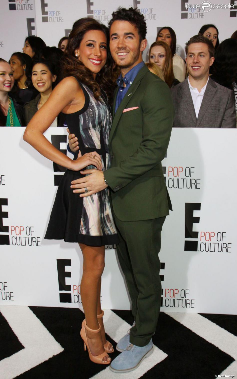 Kevin Jonas et son épouse Danielle, en avril 2013 à New York.