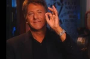 Dustin Hoffman : Emu aux larmes en parlant de Tootsie et du physique des femmes