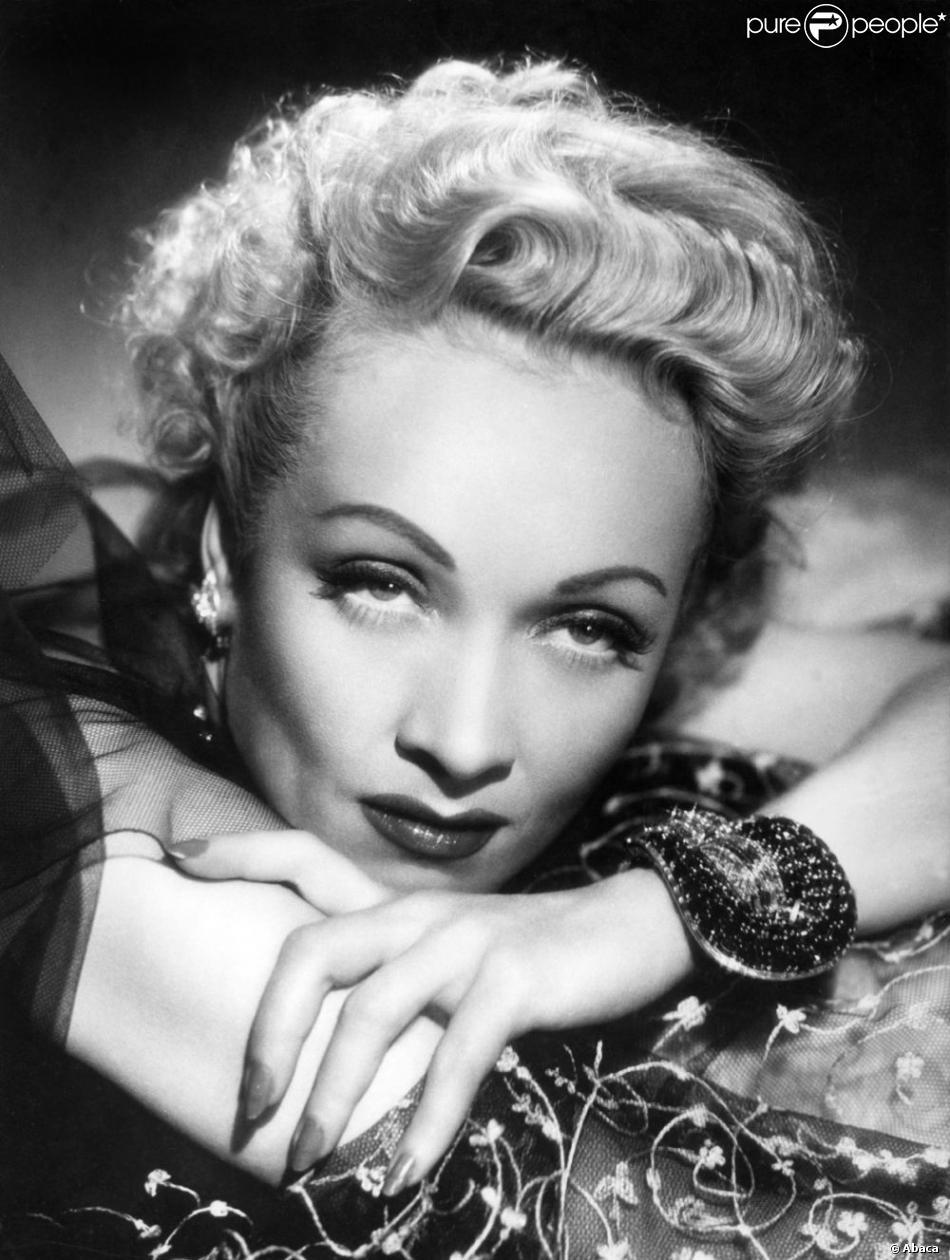Marlene Dietrich (photo non datée)