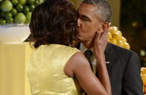 Barack Obama et Michelle : Amoureux, glamour et engagés au milieu des enfants