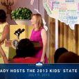 Michelle Obama lors du Kids State Dinner à la Maison-Blanche, le 9 juillet 2013.