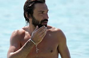 Andrea Pirlo : Le bel Italien profite de ses vacances avec sa charmante famille