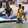 Matthew Perry prêt à prendre la mer le 12 juillet 2013 à Cabo San Lucas