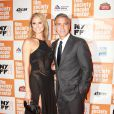 George Clooney et Stacy Keibler lors du New York Film Festival le 16 octobre 2011