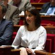 Cécile Duflot au Sénat à Paris, le 20 juin 2013.
