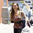 Jessica Alba fait des courses chez Bath and Beyond à Los Angeles le 17 juillet 2013