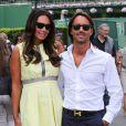 """Tamara Ecclestone et Jay Rutland à Wimbledon le 5 juillet 2013"""