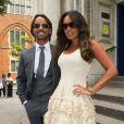 Tamara Ecclestone et son mari Jay Rutland après leur cérémonie officielle de mariage à Londres, le 1er juillet 2013