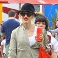 Gwen Stefani, à Los Angeles le 20 juillet 2013.