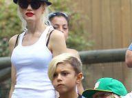 Gwen Stefani : Maman lookée dans un parc d'attraction avec ses fils