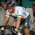 Mark Cavendish, le 21 juillet 2013 sur la dernière étape du Tour de France