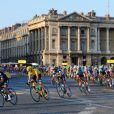 Chris Froome sur la dernière étape du Tour de France, le 21 juillet 2013 à Paris