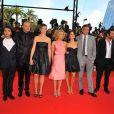 L'équipe de 'Mesrine' sur les marches de Cannes