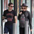 Exclu - Evan Rachel Wood et Jamie Bell font du shopping à Malibu, le 20 juillet 2013.