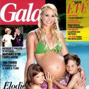 Elodie Gossuin, enceinte de jumeaux, laisse éclater sa joie avec Jules et Rose !