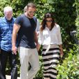 Eva Longoria visite une maison en compagnie de son petit ami Ernesto Argello à West Hollywood, le 24 juillet 2013.